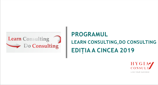Program Learn Consulting, Do Consulting, ediția a cincea 2019